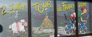 Tour de France vélo 2016 Mont Saint-Michel