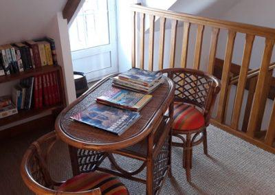 1ère bonne résolution : Repeindre le salon, au 2ème étage, pour les familles.