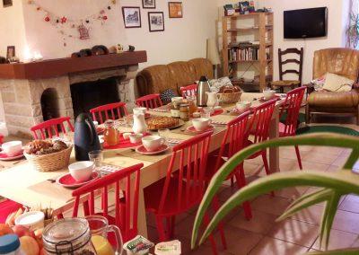 Petits-déjeuners maison en hiver